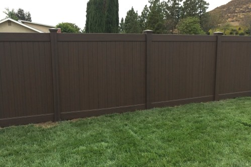 Medium Of Build Backyard Fence