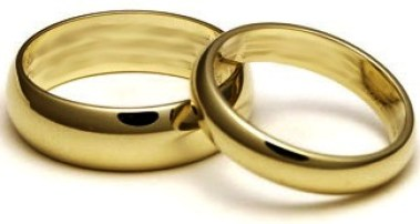 his and hers gold wedding bands by cadman manufacturing