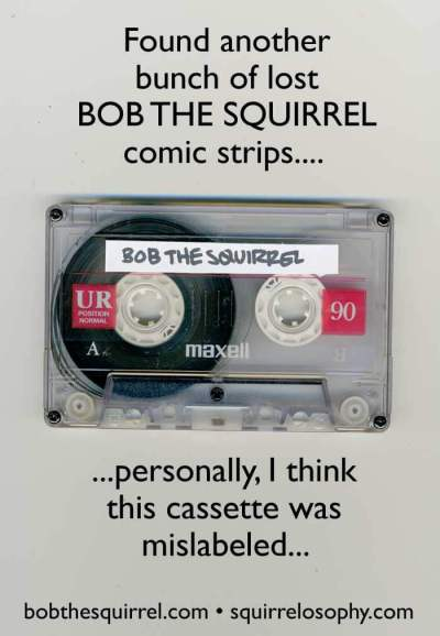 bob the squirrel cassette