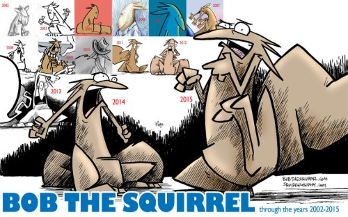 13 years of Bob the Squirrel
