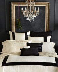 The Black and Gold Bedroom