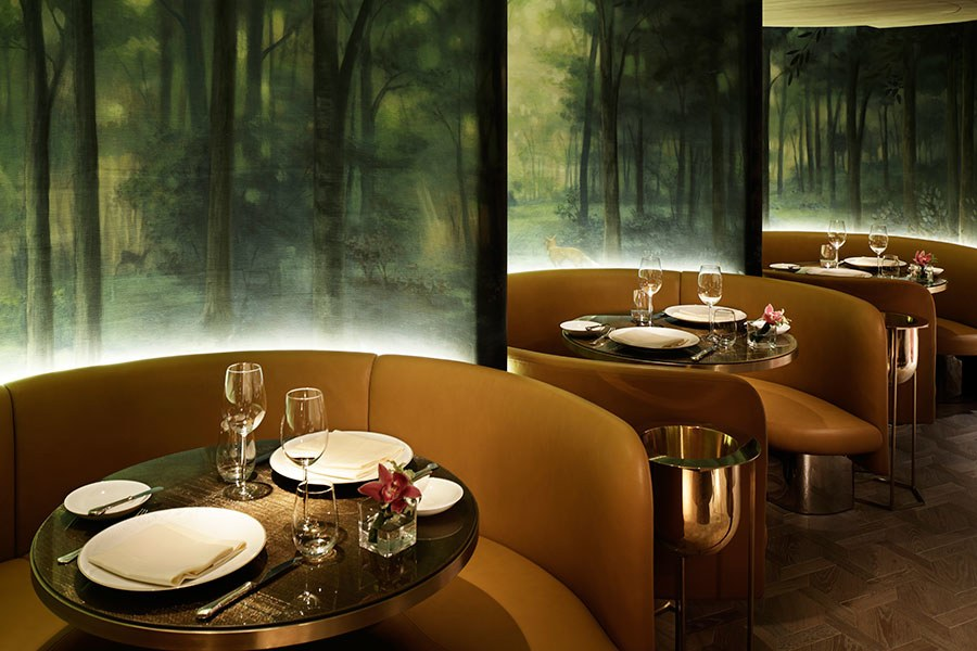 Exclusive High End Restaurants By Interior Designers Yabu Pushelberg