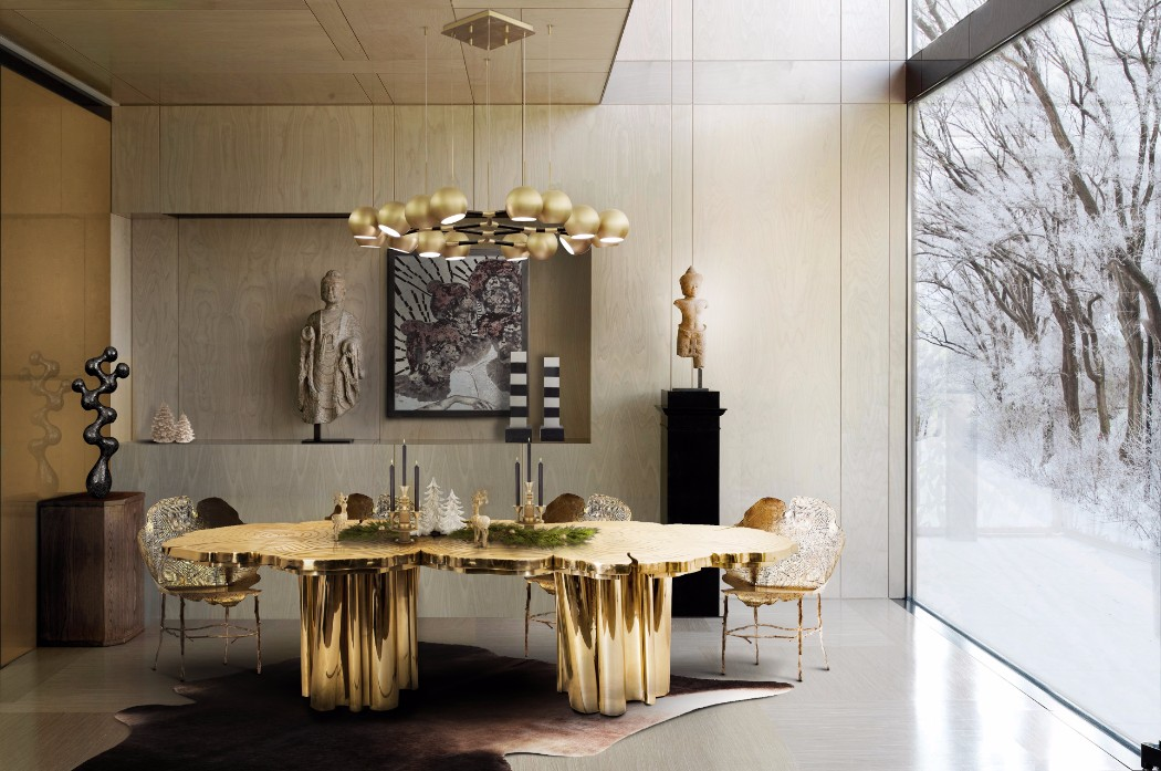 Fortuna Dining Table Boca do Lobo Exclusive Design