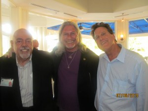Pres. Barry Epstein, David Goldstein and Marshall Isaccson