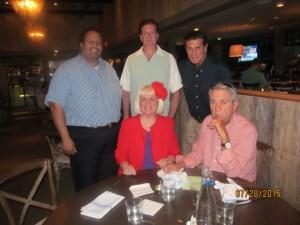 PBC Exec. Comm. Chairman, Michael Barnett, Robert Goldberg, Paul Tocker, Charlotte Beasley and Alan Bergstein