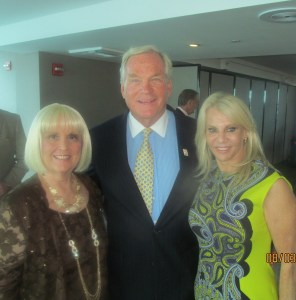 Charlotte Beasley, Dr. Michael Dennis and Bonnie Halperin
