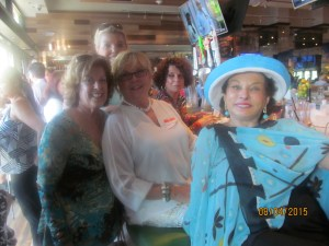 Black Hat Diva's, Karen Burke, Joan Dulin, Connie Hainline and Sharon Schornstein