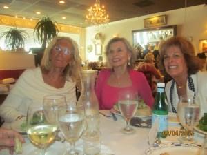 Jean Salla, Marilyn Gardner and Karen Burke