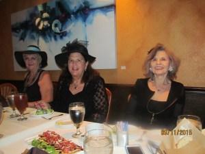 Barbaa Larkin, Dr. Phyllis Perkins and Marilyn Gardner