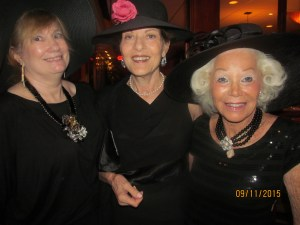 Attorney Evalyn David, Norma Naimowitz and Johann Leigh