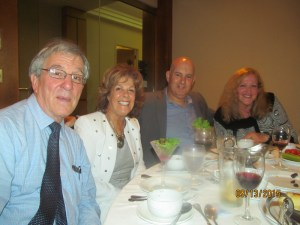 Richard, Karen and Danny Burke and Ellin Alexander