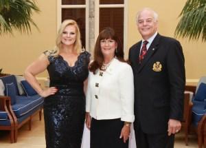Co-chair Kari Oeltjen ,Mayor Susan Haynie and  Co-Chair Jon Kaye
