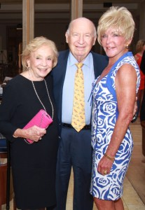June Gelb, Dr. Ira Gelb and Patricia Carpenter