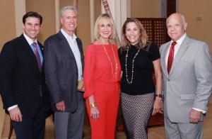 Michael Walstrom, Cliff, Viner, Lynda Palmer, Eda Viner and Dr. Ron Rubin,
