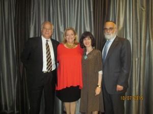 Jon and Bonnie Kaye with Ahuva and Rabbi Ruvi New