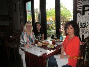 Charlotte Beasley, Melanie Conley and Wendy Baum