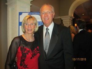 Former Mayor Susan Whelchel and husband John