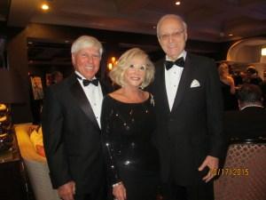 Neil Haynie, Marilyn and John Weinberg