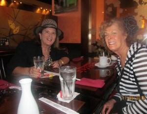 Dr. Phyllis Perkins and Karen Burke