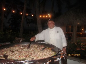 Chef from Paella Grill in Greenacres, Fl.