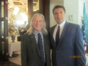 Tiger Bay Chairman, David Goldstein and Saied Shemirani