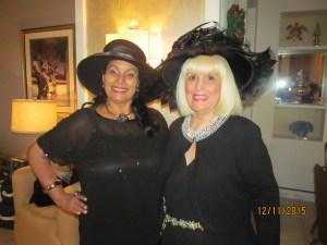 Dini Heizer of Boca Tribune and Charlotte Beasley
