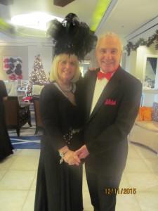 Charlotte Beasley and dance host