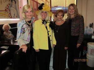 Mondessa Swift, Charlotte Beasley, Sandi Solomon and Patricia