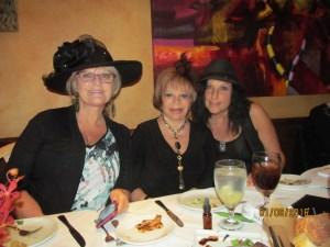 Dona Weinraub, Sandi Solomon and Gloria Fuchs