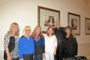 Dona Weinraub, Charlotte Beasley, Evalyn David, Jafco Exec. Director, Sarah Franco, Mel and Carole Kantor