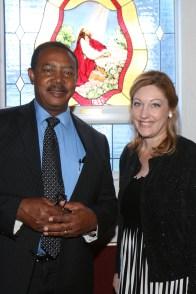 IMG_7600 Pastor Winston Anderson and Sarah Freudenberger, Cantonal Associate