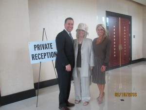 State Attorney Dave Aronberg, Charlotte Beasley and Mercedes Mottek