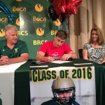 William Craven signing with Southeastern University