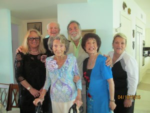 Flossy's 101th birthday party