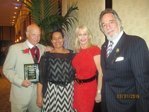 Dr. Rubin, Dini Heizer, Bonnie Halperin and Yaacov Heller