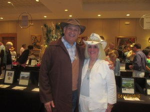 Bob Weinroth and Charlotte Beasley