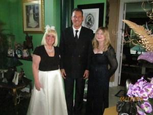 Charlotte Beasley, Jay Shapiro and Evalyn David