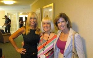 Pam Polani, Charlotte Beasley and Heidi Rucker