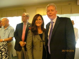 MAYOR Susan Haynie and Don Feltman