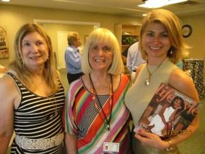 Evalyn David, Charlotte Beasley and Stephene Hosey