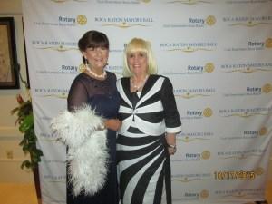Mayor Susan Haynie and Charlotte Beasley at the Mayor's Ball