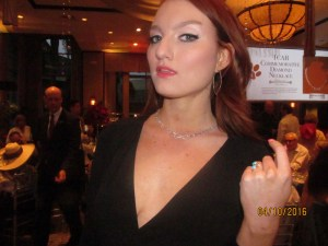 Singer Kendra Ericka at the Doggie Ball