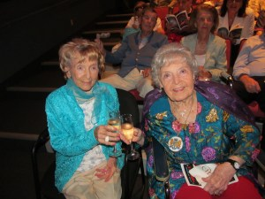 Flossy Keesley and Countess DeHoernle at the Wick Theater