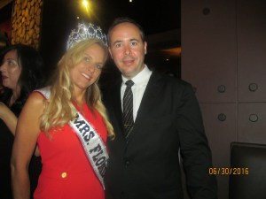 Mrs. Florida, Karen Turk and Evan Turk
