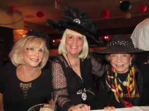 Marilyn Weinberg, Charlotte Beasley and June Gelb
