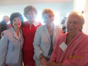 Rosemary Krieger, Arlene Herson, Yvonne Boice and Helen Babione
