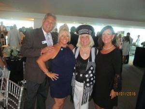 Bob Weinroth, Michelle Bellasari, Charlotte Beasley and Mayor Susan Haynie