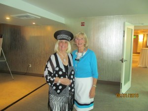 Charlotte Beasley with former Boca Raton Mayor  Susan Whelchel