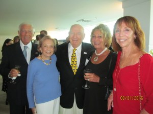 Bob Alrod,June and Dr. Ira Gelb, Doreen Alrod and Pat Yeager