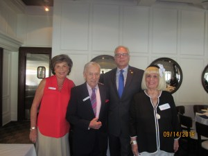 Arlene Herson. Bill Marcus, Jon Kaye and Charlotte Beasley